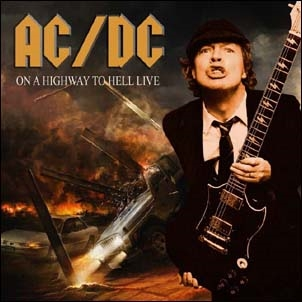 ac dc on a highway to hell live tower records online. Black Bedroom Furniture Sets. Home Design Ideas