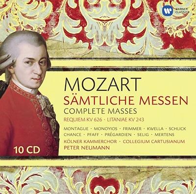 ペーター・ノイマン/Mozart: Complete Masses [CZS0284582]