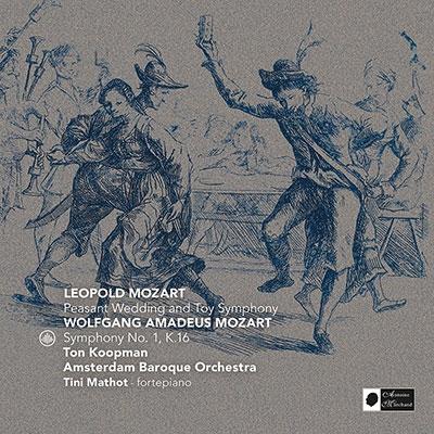 トン・コープマン/レオポルト・モーツァルト: 農民の婚礼、W.A.モーツァルト: ガリマティアス・ムジクム K.32よりフーガ、他[CC72266]