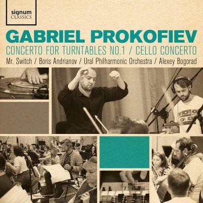 Mr.Switch/ガブリエル・プロコフィエフ: ターンテーブル協奏曲第1番/チェロ協奏曲[SIGCD628]
