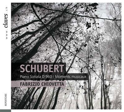 ファブリツィオ・シオヴェッタ/Schubert: Piano Sonata No.21 D.960, Moments Musicaux D.780[501213]