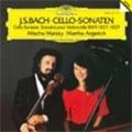 ミッシャ・マイスキー/J.S.Bach: Cello Sonatas BWV 1027-1029 [DG43032]