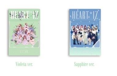 HEART*IZ: 2nd Mini Album (ランダムバージョン)(Violeta/Sapphire Ver.) [Kihno Kit]<限定盤> Accessories