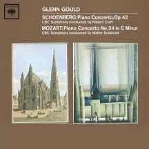 グレン・グールド/Mozart: Piano Concerto No.24 K.491/Schoenberg: Piano Concerto Op.42 :Glenn Gould(p)[88697147652]