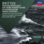 ベンジャミン・ブリテン/Britten: Four Sea Interludes, The Young Person's Guide To The Orchestra, Simple Symphony[4830392]