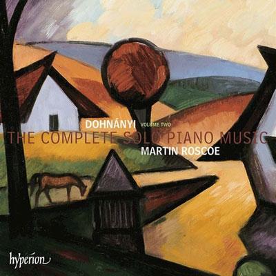 マーティン・ロスコー/E.Dohnanyi: The Complete Solo Piano Music Vol.2[CDA67932]