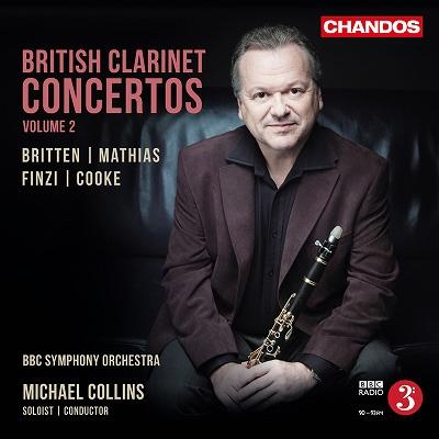 マイケル・コリンズ/British Clarinet Concertos Vol.2 [CHAN10891]