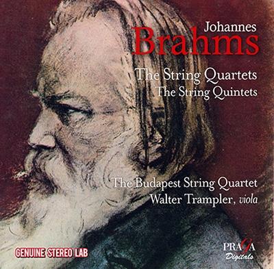 ブラームス: 弦楽四重奏曲第1番、第2番、第3番、弦楽五重奏曲第1番、第2番