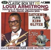 Louis Armstrong/Satchmo: A Musical Autobiography - Part 2 (4th LP) &Two Classic Albums Plus (Satchmo Plays King Oliver/Louis And The Good Book)[EMSC1083]
