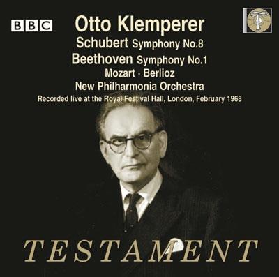 オットー・クレンペラー/モーツァルト: フリーメイソンのための葬送音楽 K.477、シューベルト: 交響曲第8番「未完成」、他[SBT21478]