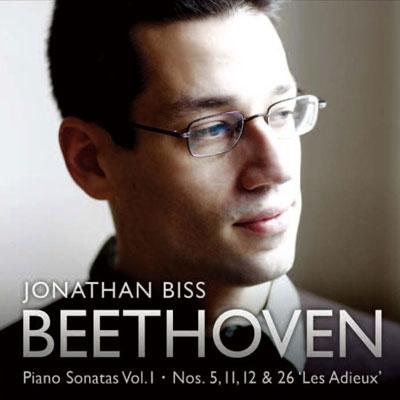 ジョナサン・ビス/Beethoven: Piano Sonatas Vol.1 - No.5, No.11, No.12, No.26