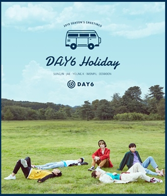 DAY6 2019 SEASON'S GREETINGS [CALENDAR+GOODS+DVD(再生不可)] Book