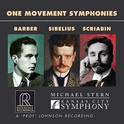 バーバー: 交響曲第1番、シベリウス: 交響曲第7番、スクリャービン: 法悦の詩 Op.54