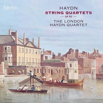 ロンドン・ハイドン四重奏団/ハイドン: 弦楽四重奏曲集 Op.50 《プロシャ王》[CDA68122]