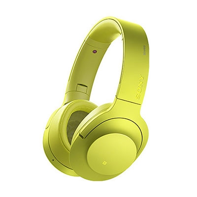 SONY ハイレゾ対応 ヘッドホン h.ear on Wireless NC MDR-100ABN ライムイエロー [MDR100ABNYM]