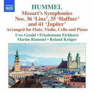 ウーヴェ・グロット/Hummel: Mozart's Symphonies No.36