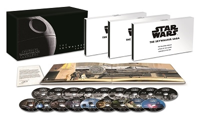 スター・ウォーズ スカイウォーカー・サーガ 4K UHD コンプリートBOX [4K Ultra HD Blu-ray Disc x9+9Blu- Ultra HD