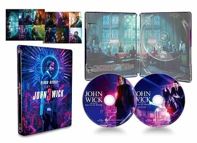 ジョン・ウィック:パラベラム コレクターズ・エディション<数量限定スチールブック仕様版/日本オリジナル Blu-ray Disc