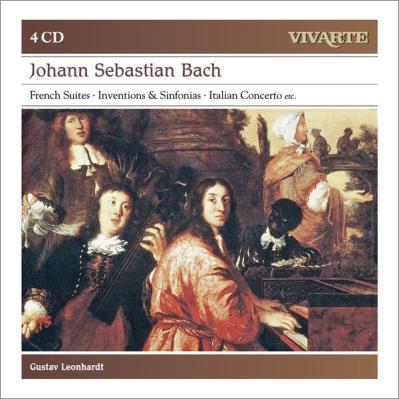 グスタフ・レオンハルト/J.S.Bach: French Suites, Inventions & Sinfonias, Italian Concerto etc<初回生産限定盤>[88697962572]