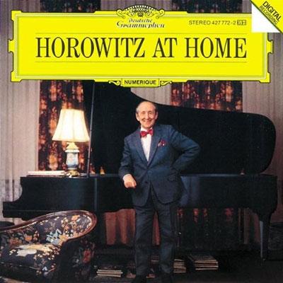 ウラディミール・ホロヴィッツ/Horowitz at Home; Mozart: Piano Sonatas No.3, Schubert: 6 Moments Musicaux D.780, etc[4277722]
