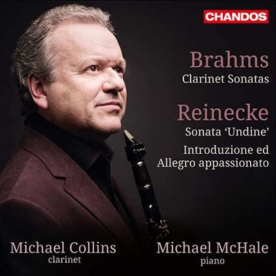 """マイケル・コリンズ/Brahms: Clarinet Sonatas; Reinecke: Sonata """"Undine"""", etc [CHAN10844]"""