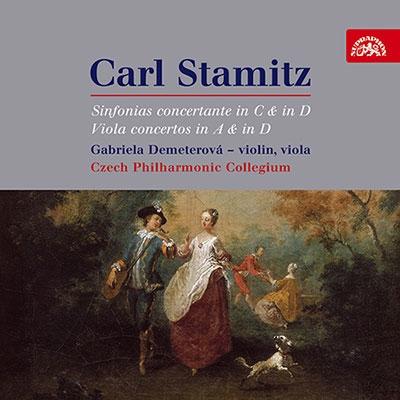 オンドジェイ・ヴラベッツ/Carl Stamitz: Sinfonias concertante in C &in D; Viola concertos in A &in D[SU3814]