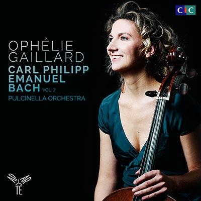オフェリー・ガイヤール/C.P.E. バッハ: チェロ協奏曲第2番、シンフォニア第3番、ピッコロ・チェロとチェンバロのためのソナタ Wq.137、他[AP118]