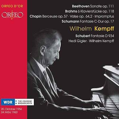 ヴィルヘルム・ケンプ/シューマン: 幻想曲、ベートーヴェン: ピアノソナタ第32番、他[C721072DR]