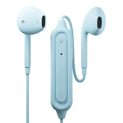 PGA Bluetoothイヤホン Ver5.0 インナーイヤー/Blue[PG-BTE12IE3BL]
