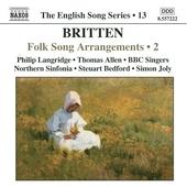 トーマス・アレン/English Song Series Vol.13:Folksong Arrangements Vol.2:Philip Langridge[8557222]