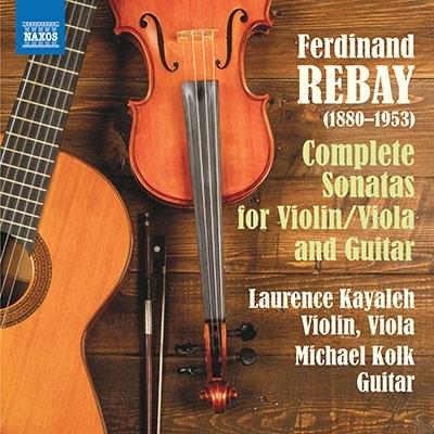 ロロンス・カヤレイ/レバイ: ヴァイオリンとギターのためのソナタ集 他[8573992]