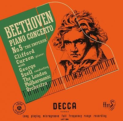 クリフォード・カーゾン/ベートーヴェン: ピアノ協奏曲第5番「皇帝」; チャイコフスキー: ピアノ協奏曲第1番 [PROC-1688]