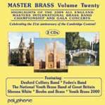 フォーデンズ・バンド/Master Brass Vol.20 -Highlights of the 2009: All England Masters International Brass Band Championship and Gala Concert[DPRL902D]