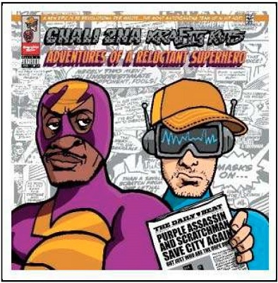 Adventures Of A Reluctant Superhero CD