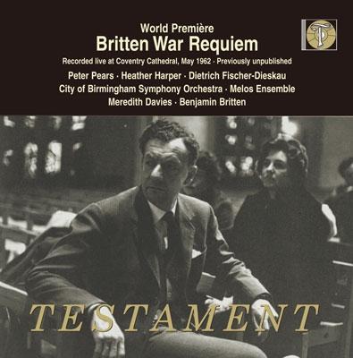 ベンジャミン・ブリテン/Britten: War Requiem Op.66[SBT1490]