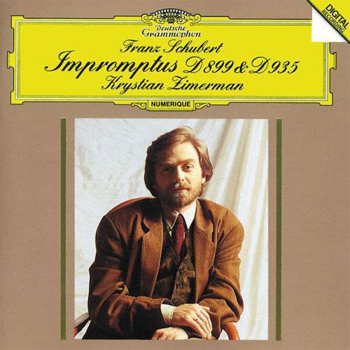 クリスチャン・ツィメルマン/Schubert: 4 Impromptus D 899 &D 935[4236122]