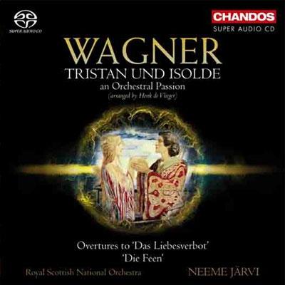 ネーメ・ヤルヴィ/ワーグナー: 《トリスタンとイゾルデ》 〜 オーケストラル・パッション[CHSA5087]