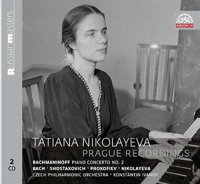 タチアナ・ニコラーエワ/Tatiana Nikolayeva - Prague Recordings [SU4216]