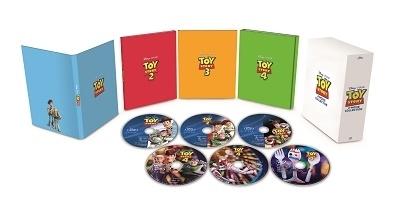 トイ・ストーリー:4ムービー・コレクション(数量限定)<ダッキー&バニー トートバッグ   TOWER RECORDS付 Blu-ray Disc