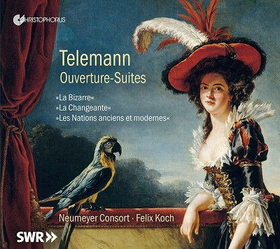 フェリックス・コッホ/Telemann: Ouverture-Suites [CHR77412]