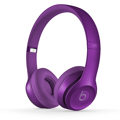 beats by dr.dre Solo2 オンイヤーヘッドフォン Imperial Violet