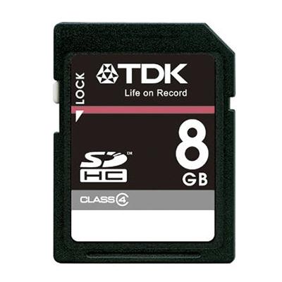 TDK SDHCカード 8GB Class4 (5年保証) [T-SDHC8GB4]