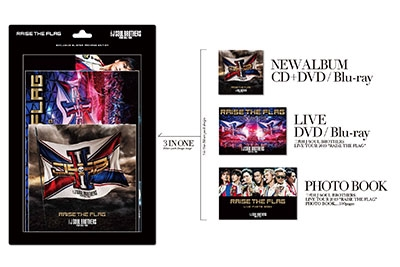 RAISE THE FLAG [CD+3DVD+フォトブック]<初回生産限定盤> CD