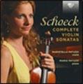 マリステッラ・パトゥッツィ/Schoeck: Complete Violin Sonatas[BRL95292]