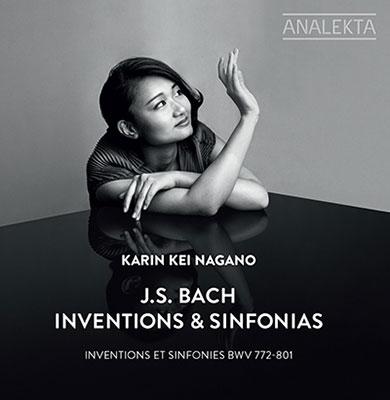 カリン・ケイ・ナガノ/J.S.Bach: Inventions & Sinfonias BWV.772-801[AN28771]