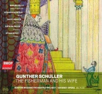 ガンサー・シュラー: オペラ「漁師と女将さん」