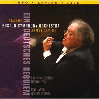 ジェイムズ・レヴァイン/【ワケあり特価】Brahms: Ein Deutsches Requiem (German Requiem) Op.45[BSO1025W]