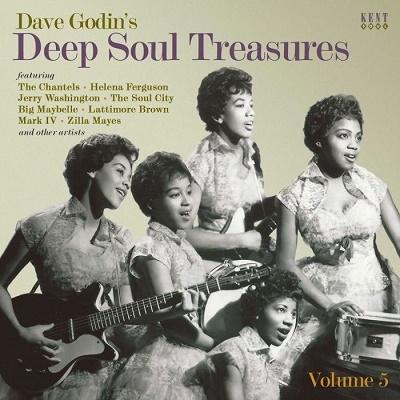 Dave Godin's Deep Soul Treasures Vol. 5[CDKEND485]