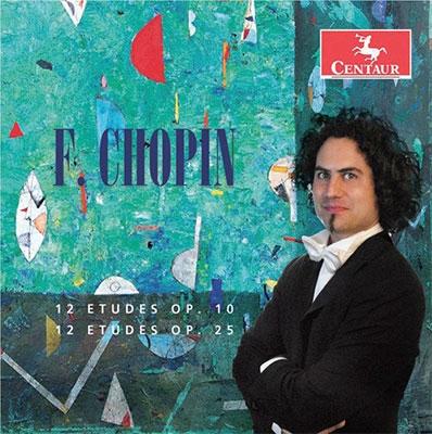 セバスティアン・ディ・ビン/F.Chopin: 12 Etudes Op.10, Op.25[CRC3588]