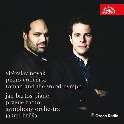 ヴィーチェスラフ・ノヴァーク: ピアノ協奏曲、「たそがれ」 & 交響詩「トマンと森の精」 CD